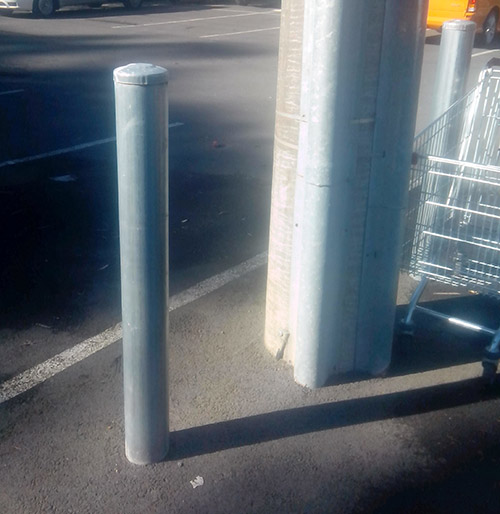 These are some bollards I senn in the car park at Vic Roads